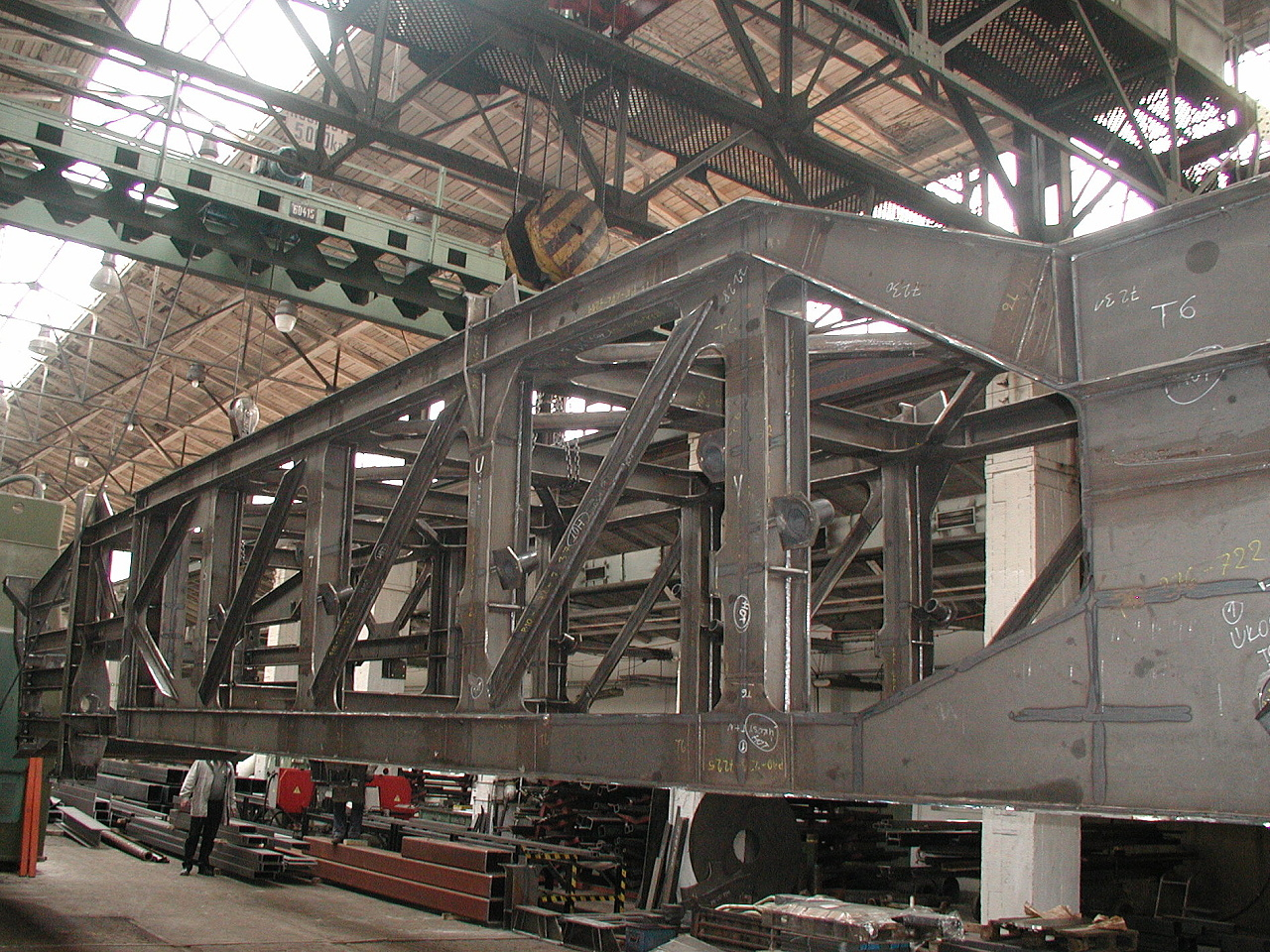 Manufacture of welded structures